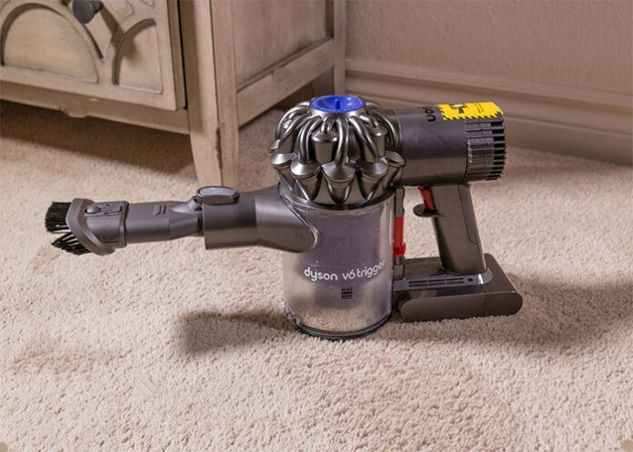 Dyson vacuum not sucking